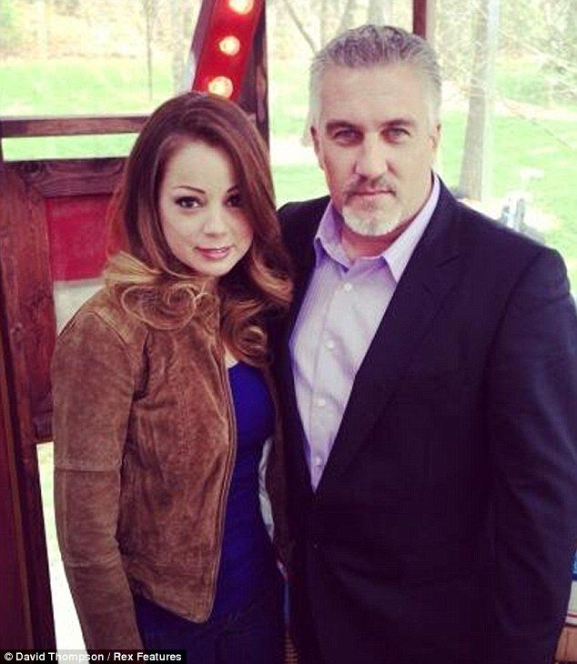 Close friends: Paul Hollywood has reportedly split from his wife just weeks after returning from filming with Marcela Valladolid on US version of The Great British Bake Off