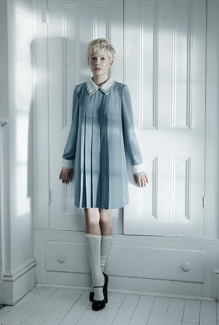 Michelle Williams | photographer: Mikael Jansson | Stylist: Karl Templer - for Interview May 2011
