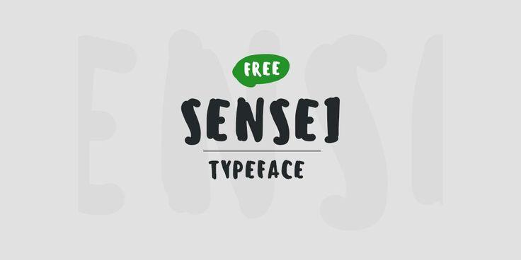 Sensei Brush font