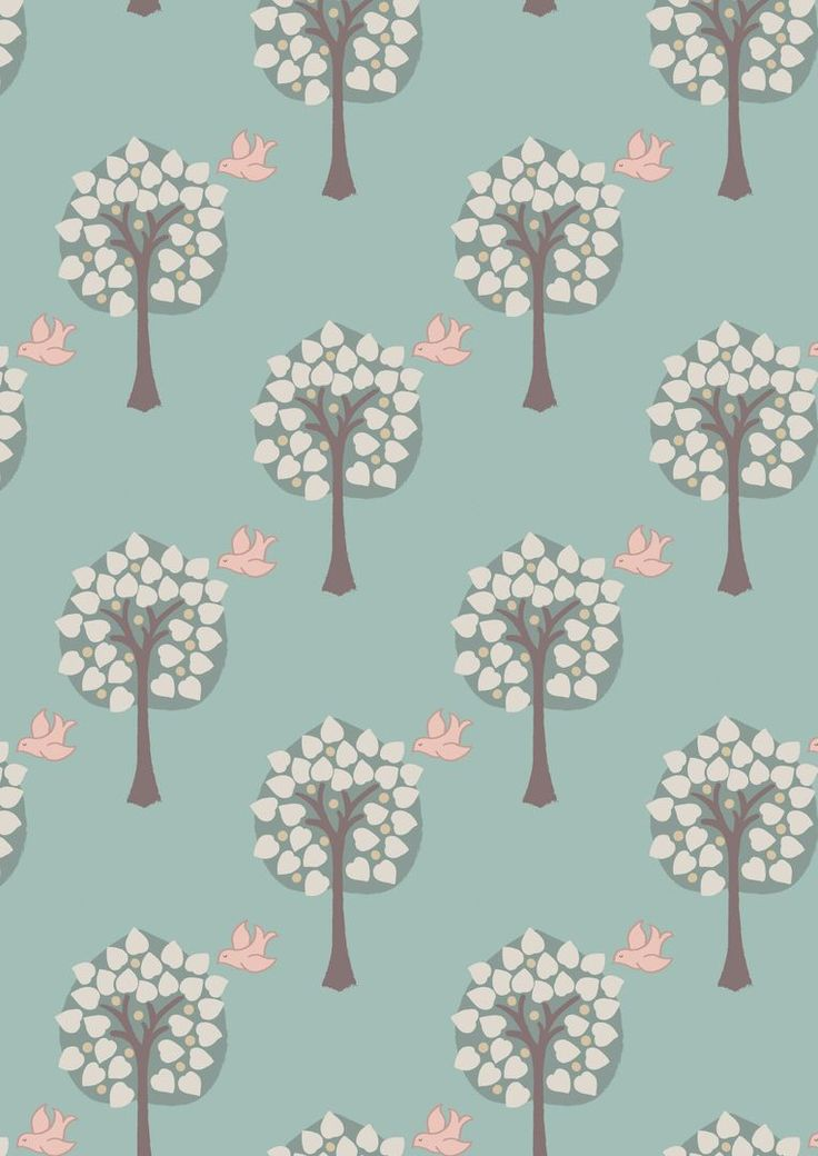 A167.2 - Love tree on duck egg blue