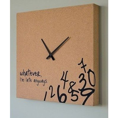 Must find and purchase this!!!: Ideas, Late Clock, Perfect Clock, I M Late, My Life, So True, Things, Clocks, My Sister