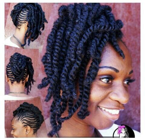 Peachy 1000 Images About Natural Hair Amp Braid Styles On Pinterest Short Hairstyles Gunalazisus