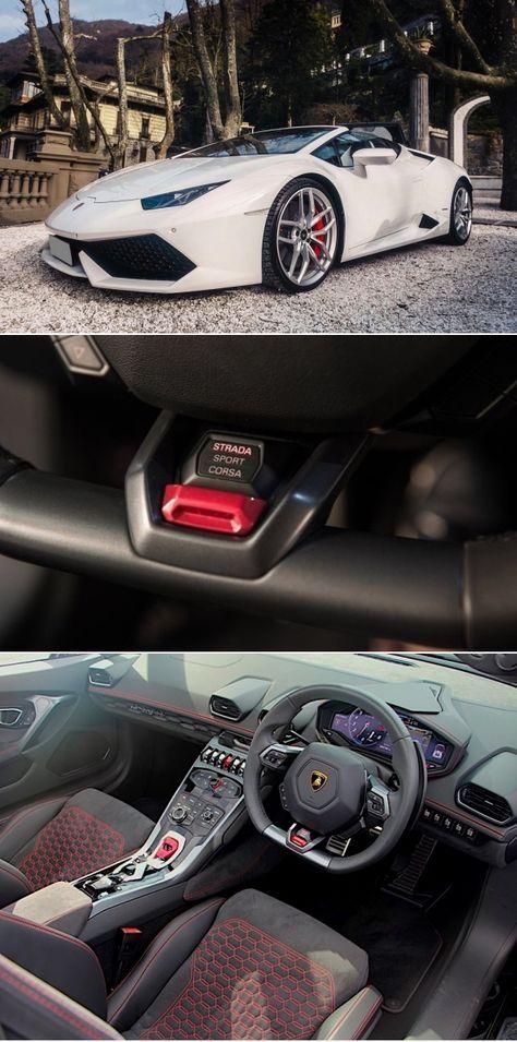 Lamborghini Huracan Spyder 2018 White Lamborghini Luxury Cars