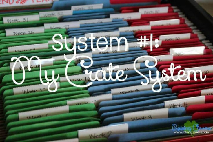How to Organize All Your Homeschool Curriculum: 5 Systems to Help Your Homeschool Run Smoother by Raising Clovers - You are going to  LOVE this post! I go through the 5 different systems that I use to organize my ENTIRE homeschool year! These 5 systems have helped our homeschool run so much smoother! My older kids use this system to work independently (making it easier for me to work with my pre-readers & toddlers). I hope this post blesses your family!
