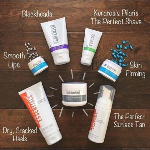 """Maybe a 3-4 Step regimen isn't really your """"thing,"""" and you're mostly happy with your skin, but MAYBE there are a few pesky issues: blackheads, dullness, even cracked heels or pasty skin? Using a """"mini-regimen"""" is the perfect way to tackle some concerns, even if you are not currently using a RF regimen. It is important to exfoliate no matter what! Pair our Micro-dermabrasion paste with the recommended product below to take care of your trouble areas! Jwells21.myrandf.com Jenwells21@gmail.co…"""