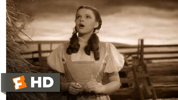 Judy Garland performing Somewhere Over the Rainbow. It is a classic Academy Award-winning ballad, with music by Harold Arlen and lyrics by E.Y. Harburg. It was written for the 1939 movie The Wizard of Oz http://en.wikipedia.org/wiki/Over_the_Rainbow