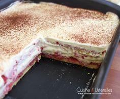 recette tiramisu fraises pour 8 personnes
