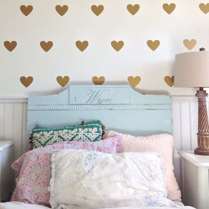 heart wallpaper for girly bedroom new bedroom look