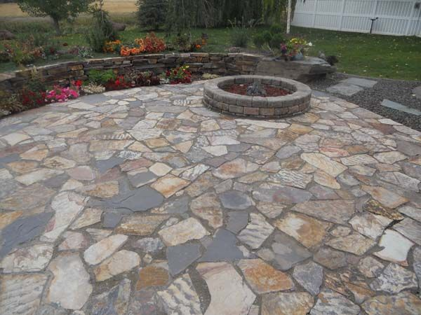 Different types of flagstone