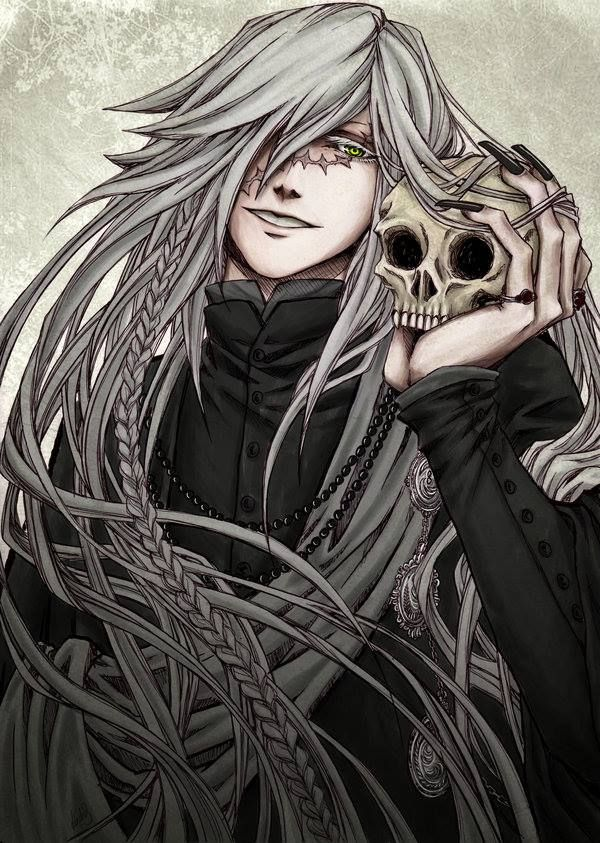 Black Butler Undertaker Who Has An Uncanny Resemblance To Soul Eaters Stein Hakase