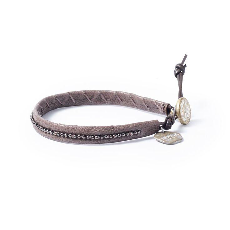 Noosa Amsterdam Armband Warrior Soul grey | Noosa Amsterdam | Armbänder | Schmuck | Loungeberry
