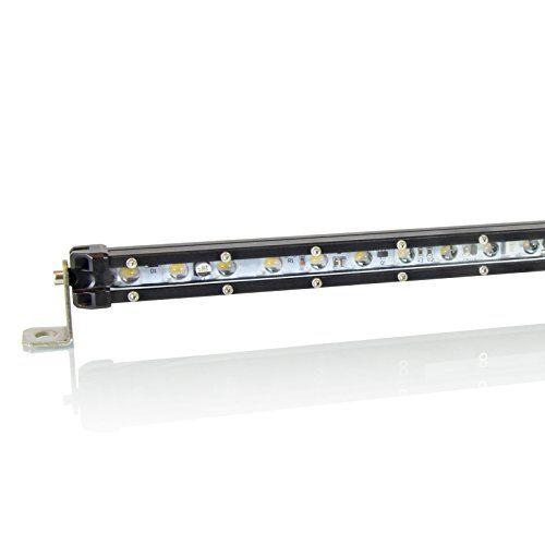 Optix 17 Inch Led Single Row Light Bar 60w Slim Line Led Light Bar Led Reverse Light Front Rear Bumper Light Bar Led Light Bars Bar Lighting