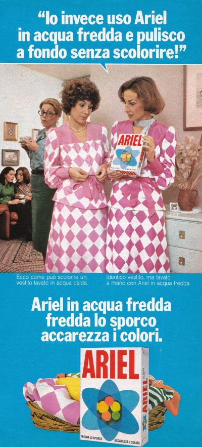 1976 ariel #cleanser