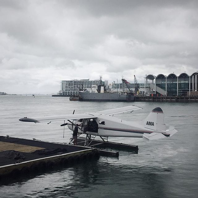 Gappin it to chase some rays #overseas #seaplane #raychaser #colourpalette #endofthestorm