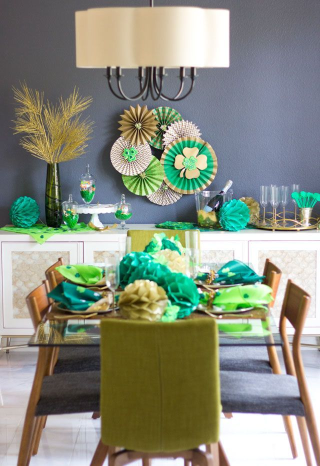 St. Patrick's Day Dinner Party Ideas | Design Improvised