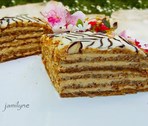"Russian desserts are the best! Торт ""Эстерхази"""