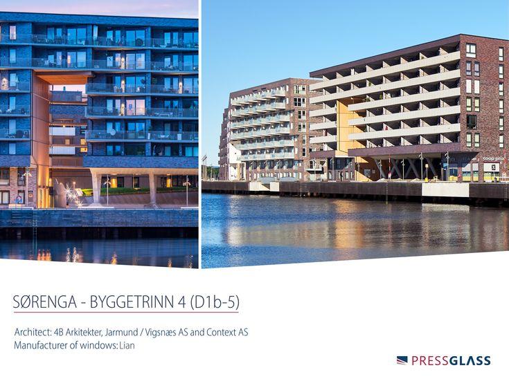 Sørenga Complex is located in the harbour area of Oslo ( Norway). Most of the buildings in the new residential district use glazed units manufactured at our plants.  / Kompleks mieszkalny Sørenga jest zlokalizowany na terenie portowym w Oslo (Norwegia). W większości budynków nowego osiedla wykorzystano szyby zespolone, które wyprodukowano w naszych zakładach.