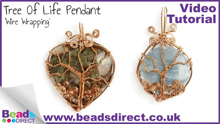How To Make a Tree Of Life Pendant | Wire Wrapping