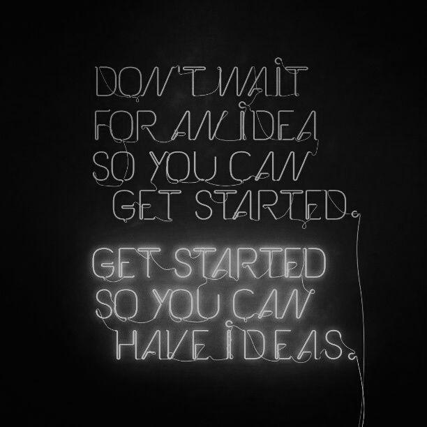 Get started...