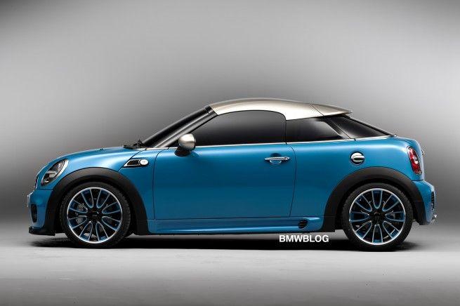 Official Debut: MINI Coupe Concept
