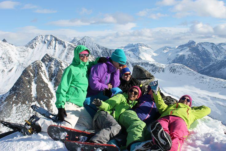 Top Tur - Huippureissu Norjaan!  #Laskuvaellus  #Hiihto  #Matkailu