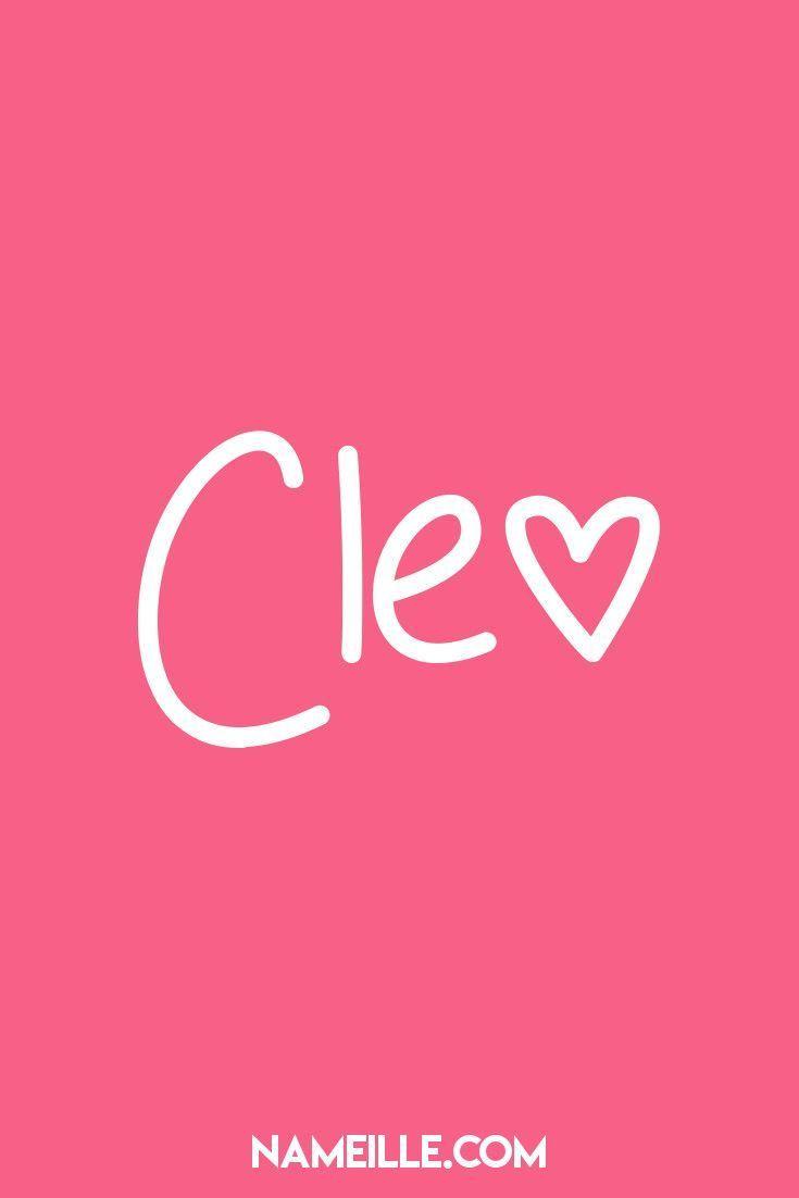 Cleo I Super Cute Baby Names For Girls I Nameille Com Cool Baby Names Baby Names Baby Girl Names