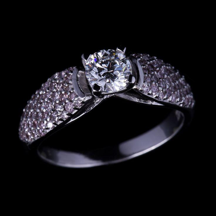 Pink and White Diamond Ring on auction at #graysonline #diamond #pinkdiamond #ring #jewelry #jewellry #diamondring #bid #auction #$9startprice #online