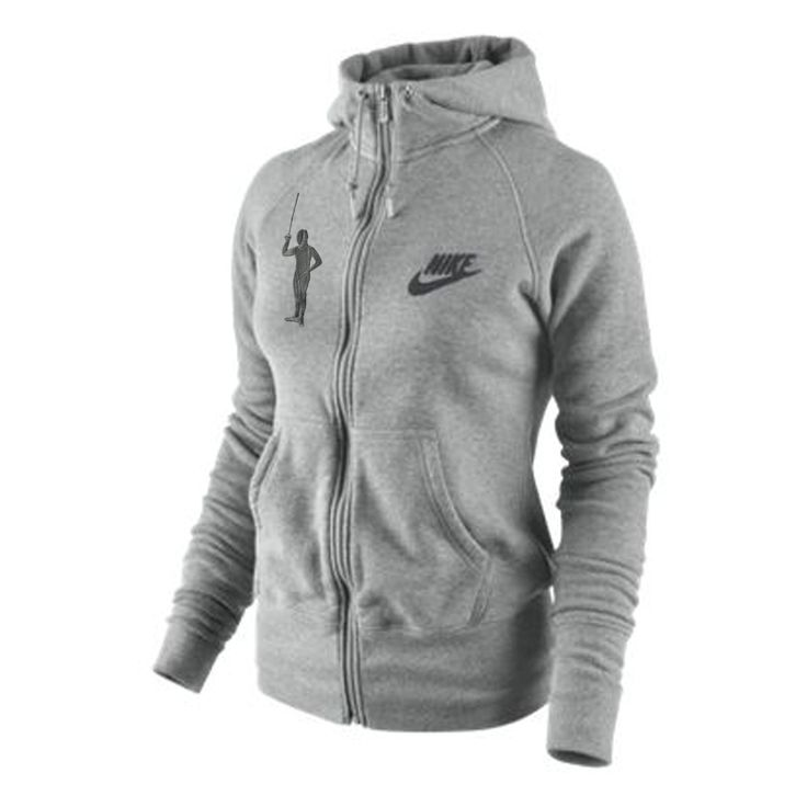 The Nike Fencing Full-Zip Women's Hoodie is made with a cozy cotton blend for a comfortable fit and raglan sleeves for a plenty of mobility.