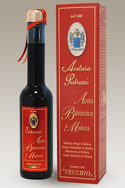 """10% Italian food: """"Vecchio"""", the aged Balsamic vinegar from Acetaia Pedroni - Buy online"""
