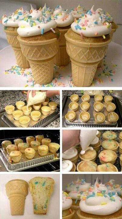 Traktatie - heerlijke ijsjes