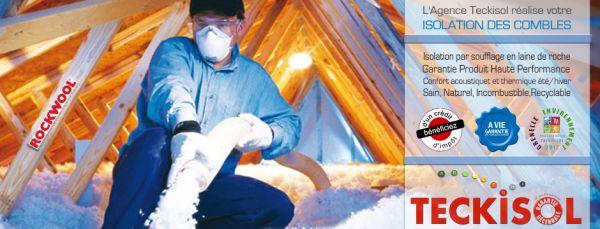 Entreprise Isolation des Combles Caen - Entreprise Isolation – Solution d'isolation des Combles par soufflage en laine de roche