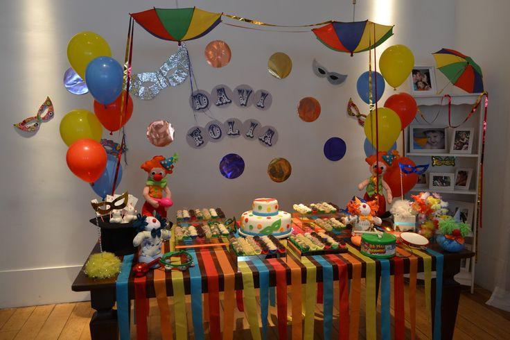 decoração aniversario carnaval - Pesquisa Google