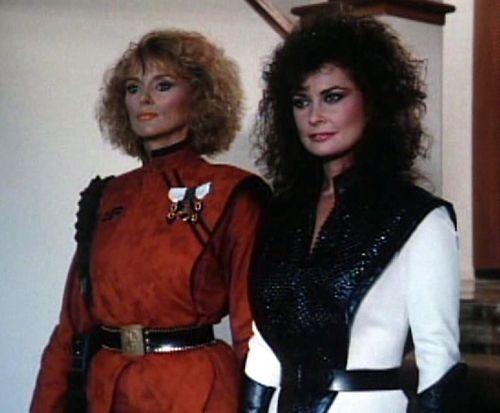 Sybil Danning & Jane Badler