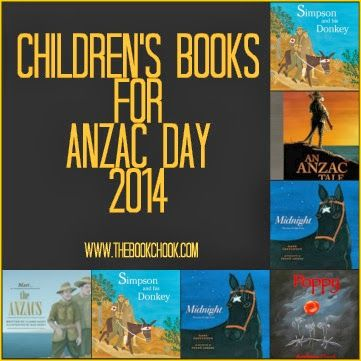 ANZAC Day 2014 books