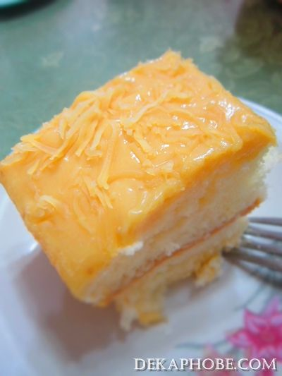 Rodillas Yema Cake Recipe