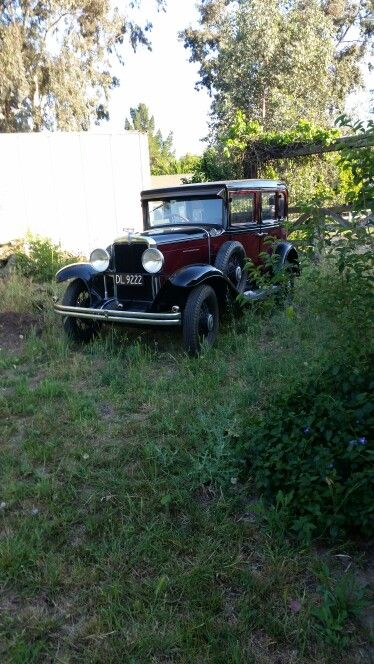 1930 Chevrolet sedan (New Zealand)