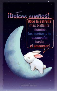 Dulces sueños ~ Imagen con frase