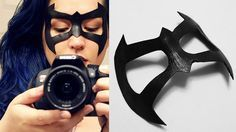 Make Your Own Superhero Mask for Comic Con!