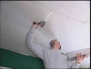 DIYNetwork.com offers steps that demonstrate how to remove and replace ceiling tiles with drywall.