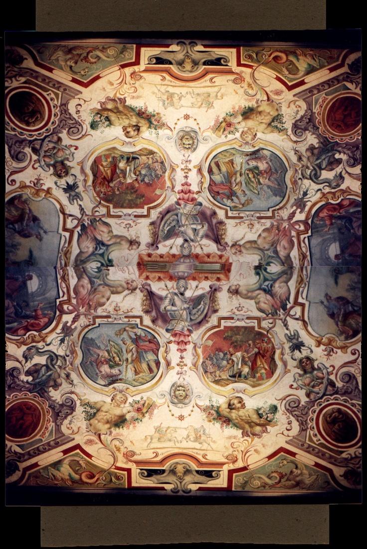 Uffizi ceiling.....Bailey Zimmerman