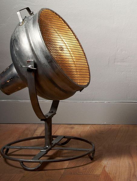 VIntage Industrial Floor Light unique lighting – We collect similar beauties – Only/Once – www.onlyonceshop.com