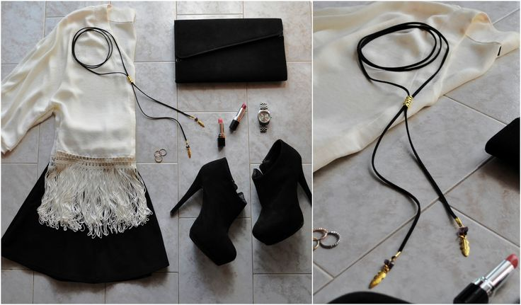 Be stylish every single night with this fabulous suede choker!ILearn how to make it on your own..only at e-xantra.gr
