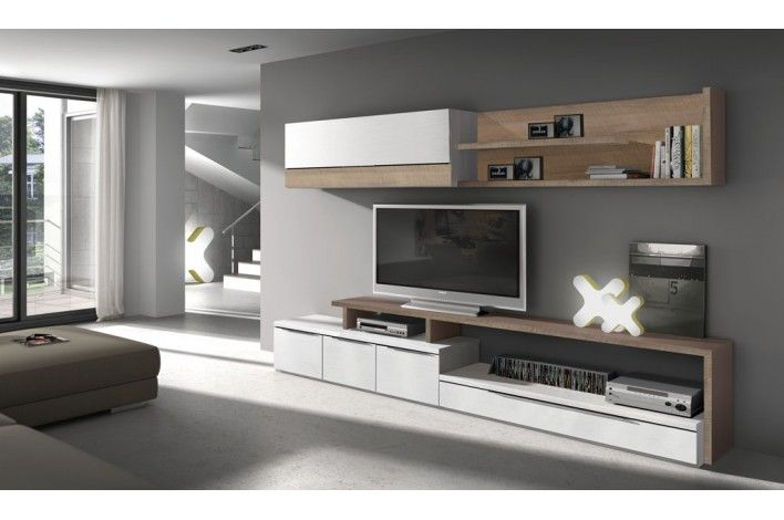 Plus de 1000 id es propos de wall unit tv sur pinterest for Catalogo de muebles de salon en merkamueble