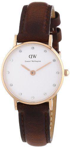 Daniel Wellington Damen-Armbanduhr XS Classy St Andrews Analog Quarz Leder 0900DW Daniel Wellington, http://www.amazon.de/dp/B00D195O3K/ref=cm_sw_r_pi_dp_Cs5xtb05X1NY0