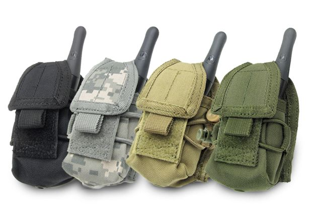 MOLLE Multi-Purpose Handheld FRS Radio MOLLE Pouch - OD Green, Tactical Gear/Apparel, Pouches, OD / Green Pouches - Evike.com Airsoft Superstore