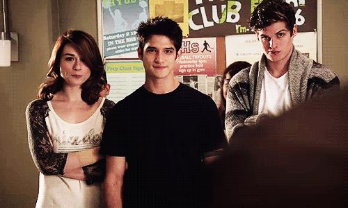 Teen Wolf - Allison, Scott & Isaac