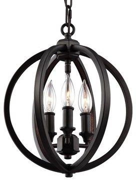 Murray Feiss Corinne Contemporary Pendant Light transitional-pendant-lighting