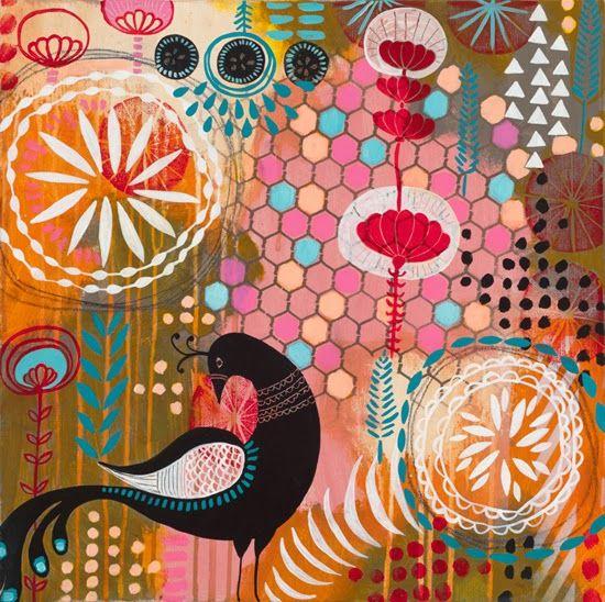 Creative Sketchbook: Vibrant Colour Creations by Jessica Gonacha Swift www.creativesketchbook.co.uk