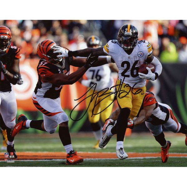 "Le'Veon Bell Pittsburgh Steelers Fanatics Authentic Autographed 8"" x 10"" Stiff Arm vs. Bengals Photograph - $109.99"