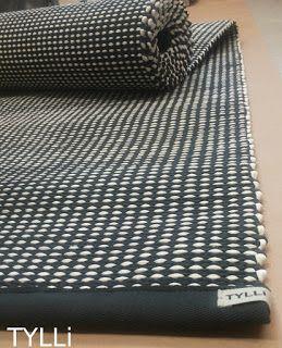 Musta-valkoinen Lokki-matto